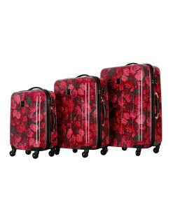 "Isaac Mizrahi Irwin 2 Berry Hardside 26"" 4-Wheel Spinner"